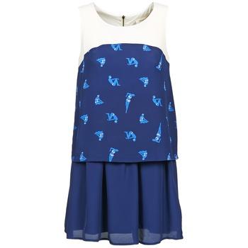 textil Dame Korte kjoler Naf Naf LIBAIN Marineblå