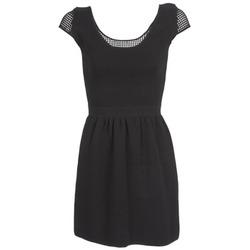 textil Dame Korte kjoler Naf Naf MANGUILLA Sort