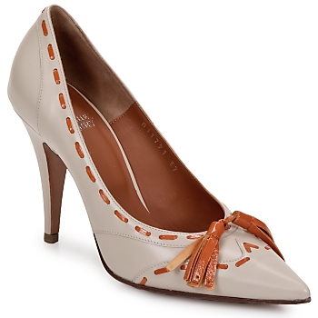Pumps Michel Perry CAMOSCIO (1025166089)