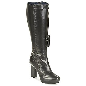 Sko Dame Chikke støvler Pollini PA2611 Sort