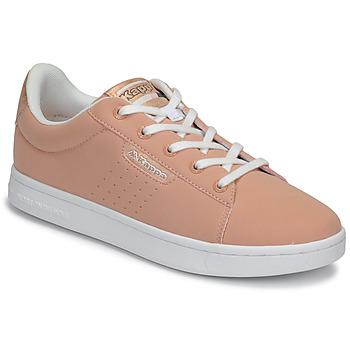 Sko Pige Lave sneakers Kappa TCHOURI LACE Pink / Hvid