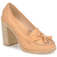 Sko Dame Pumps Swedish hasbeens TASSEL LOAFER Beige