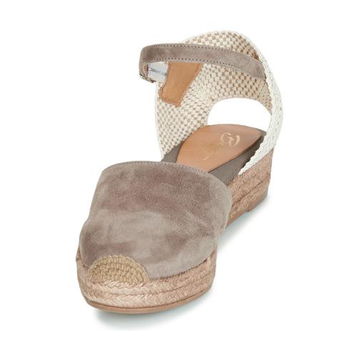 ANTALA  Betty London  sandaler  dame  grå ZUhmI