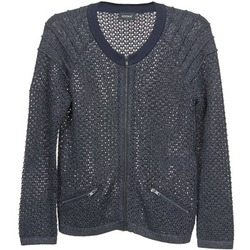 textil Dame Veste / Cardigans Kookaï TOULIA Marineblå