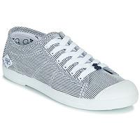 Sko Dame Lave sneakers Le Temps des Cerises BASIC 02 Blå / Hvid