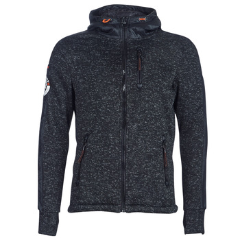 textil Herre Sweatshirts Superdry STORM INTERNATIONAL ZIPHOOD Sort