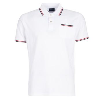 textil Herre Polo-t-shirts m. korte ærmer Gant COL TIPPING PIQUE Hvid