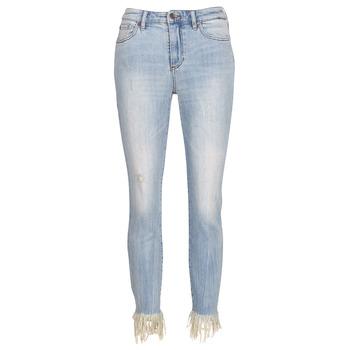 textil Dame Jeans - 3/4 & 7/8 Armani Exchange HELBAIRI Blå / Lys