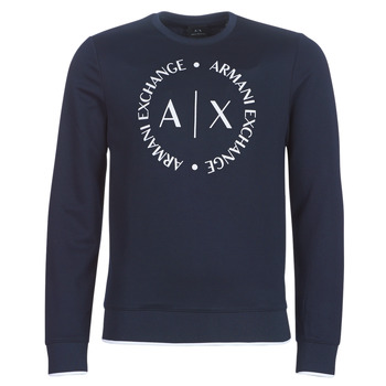 textil Herre Sweatshirts Armani Exchange HERBARI Sort