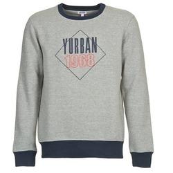 textil Herre Sweatshirts Yurban CEDRIC Grå