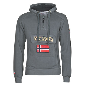 textil Herre Sweatshirts Geographical Norway GYMCLASS Grå