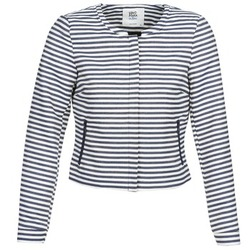 textil Dame Jakker / Blazere Vero Moda MALTA Marineblå / Hvid