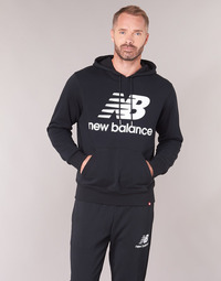 textil Herre Sweatshirts New Balance NB SWEATSHIRT Sort