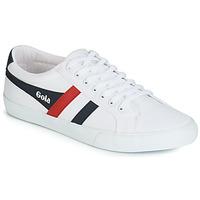 Sko Herre Lave sneakers Gola VARSITY Hvid / Navy / Rød