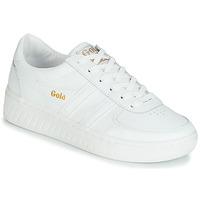 Sko Dame Lave sneakers Gola GRANDSLAM LEATHER Hvid