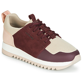 Sko Dame Lave sneakers G-Star Raw DELINE WMN Pink / Bordeaux