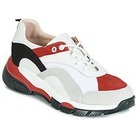 Sko Dame Lave sneakers Tosca Blu KELLY Hvid / Rød
