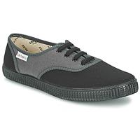 Sko Lave sneakers Victoria INGLESA BICOLOR Antracit