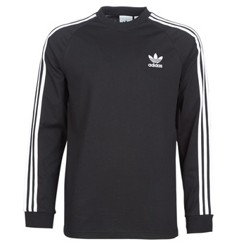 textil Herre Langærmede T-shirts adidas Originals 3 STRIPES LS T Sort