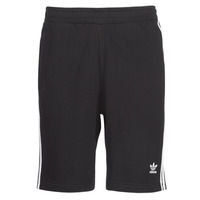 textil Herre Shorts adidas Originals 3 STRIPE SHORT Sort