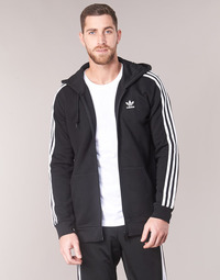 textil Herre Sweatshirts adidas Originals 3 STRIPES FZ Sort