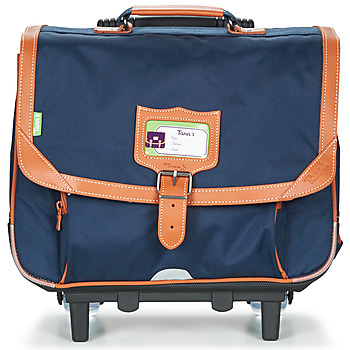 Tasker Dreng Rygsække / skoletasker med hjul Tann's CAMILLE TROLLEY CARTABLE 38CM Marineblå