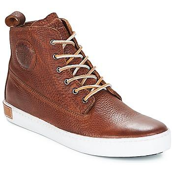 Sko Herre Høje sneakers Blackstone INCH WORKER Brun