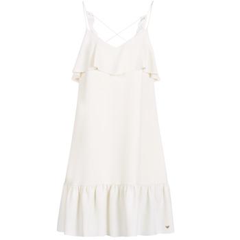 textil Dame Korte kjoler Les Petites Bombes AZITARBE Hvid