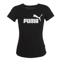 textil Dame T-shirts m. korte ærmer Puma PERMA ESS TEE Sort