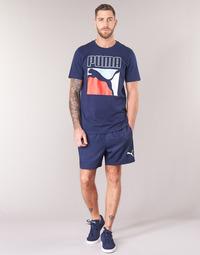 textil Herre Shorts Puma WOVEN SHORT Marineblå