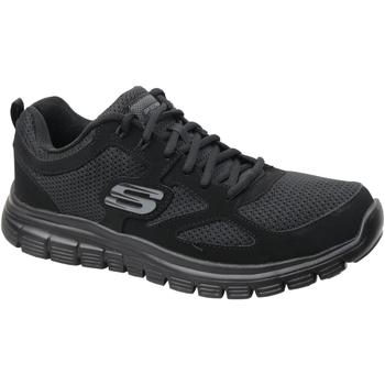 Sko Herre Lave sneakers Skechers Burns 52635-BBK