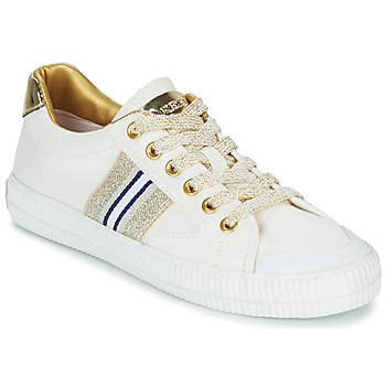 Sko Dame Lave sneakers Replay EXTRA Hvid / Guld
