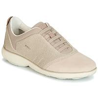 Sko Dame Lave sneakers Geox D NEBULA Beige / Fløde