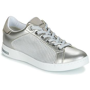 Sko Dame Lave sneakers Geox D JAYSEN Sølv