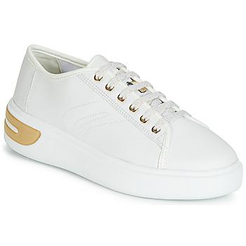 Sko Dame Lave sneakers Geox D OTTAYA Hvid