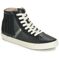 Sko Pige Høje sneakers Geox J KILWI GIRL Sort