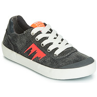 Sko Dreng Lave sneakers Geox J KILWI BOY Grå / Orange