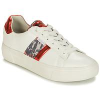 Sko Dame Lave sneakers Refresh 69954 Hvid / Rød