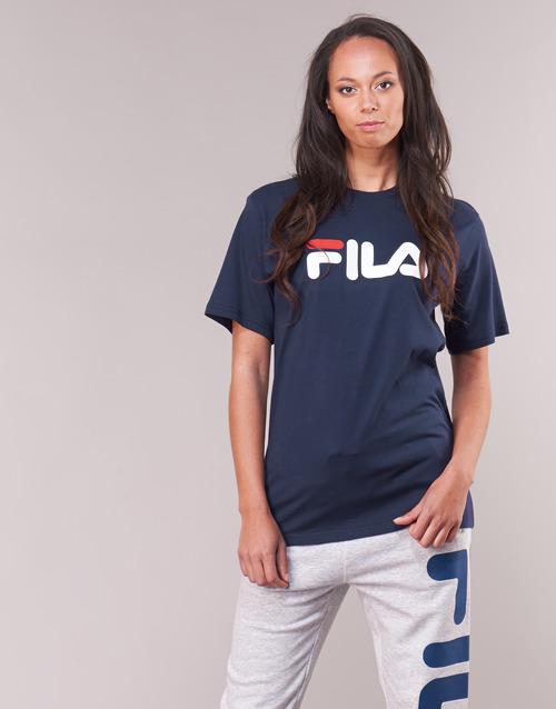 Begræns Rabat Tøj Fila PURE Short Sleeve Shirt Marineblå
