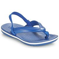 Sko Børn Flip flops Crocs CROCBAND STRAP FLIP K Blå