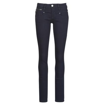 textil Dame Smalle jeans Freeman T.Porter Alexa Slim S-SDM Marineblå / Mørk