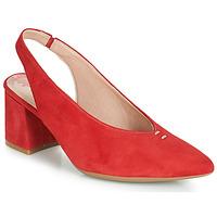 Sko Dame Højhælede sko Dorking 7806 Rød