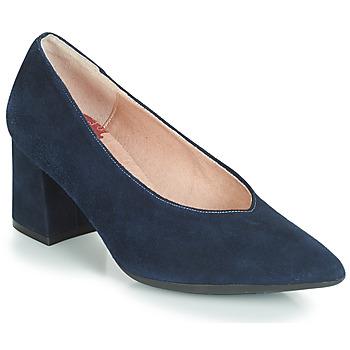 Sko Dame Højhælede sko Dorking 7805 Marineblå