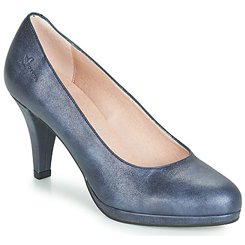 Sko Dame Højhælede sko Dorking 7118 Marineblå