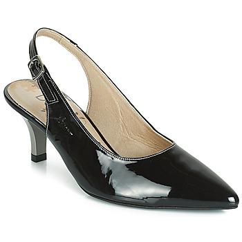 Sko Dame Højhælede sko Dorking 7814 Sort