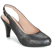 Sko Dame Højhælede sko Dorking 7119 Sort