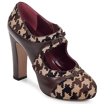 Sko Dame Pumps Antonio Marras ALINA brun