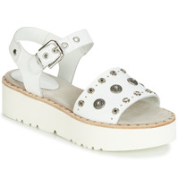 Sko Dame Sandaler Now 5435-476 Hvid