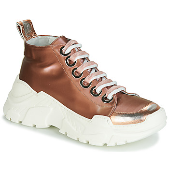 Sko Dame Lave sneakers Fru.it 5390-850 Bronze