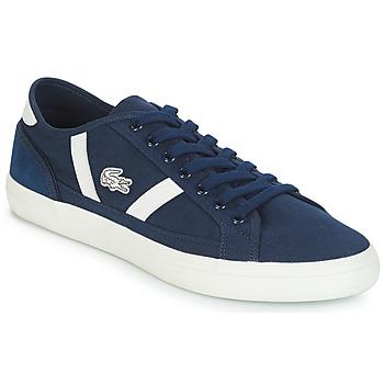 Sko Herre Lave sneakers Lacoste SIDELINE 119 1 Marineblå / Hvid